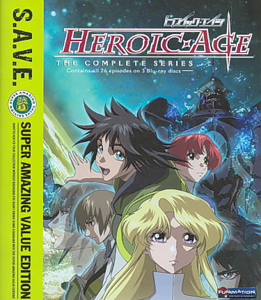 HEROIC AGE:COMPLETE SERIES (SAVE) BY HEROIC AGE (Blu-Ray)